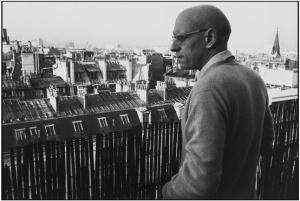 Michel Foucault1978 par martine franck